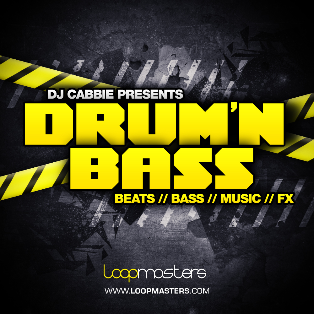 DJ Cabbie Presents Drum And Bass, Drum & Bass Sample CD, DnB ...