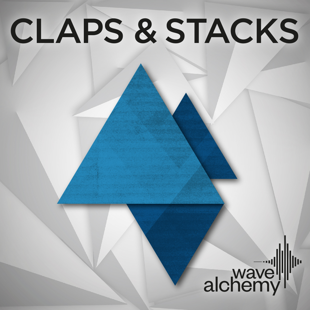 Clap Samples, Claps & Stacks, Drum Clap Sounds, Wave Alchemy