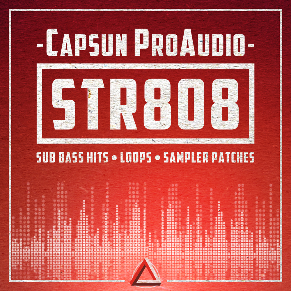 STR808 Sub Bass Samples, 808 Sounds, Garage Sub Bass Loops, Hip ...