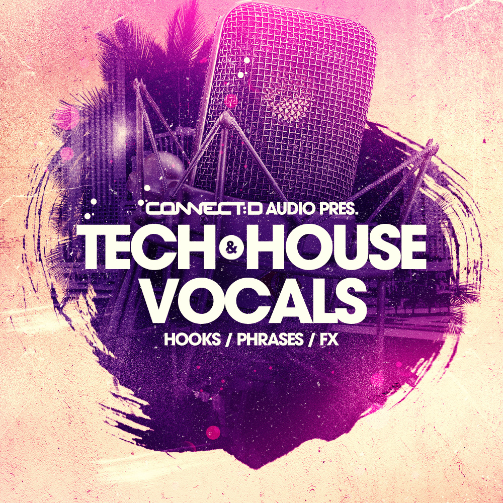 Tech House Vocal Loops, EDM Vox Phrases, Club Ready Hook Samples ...
