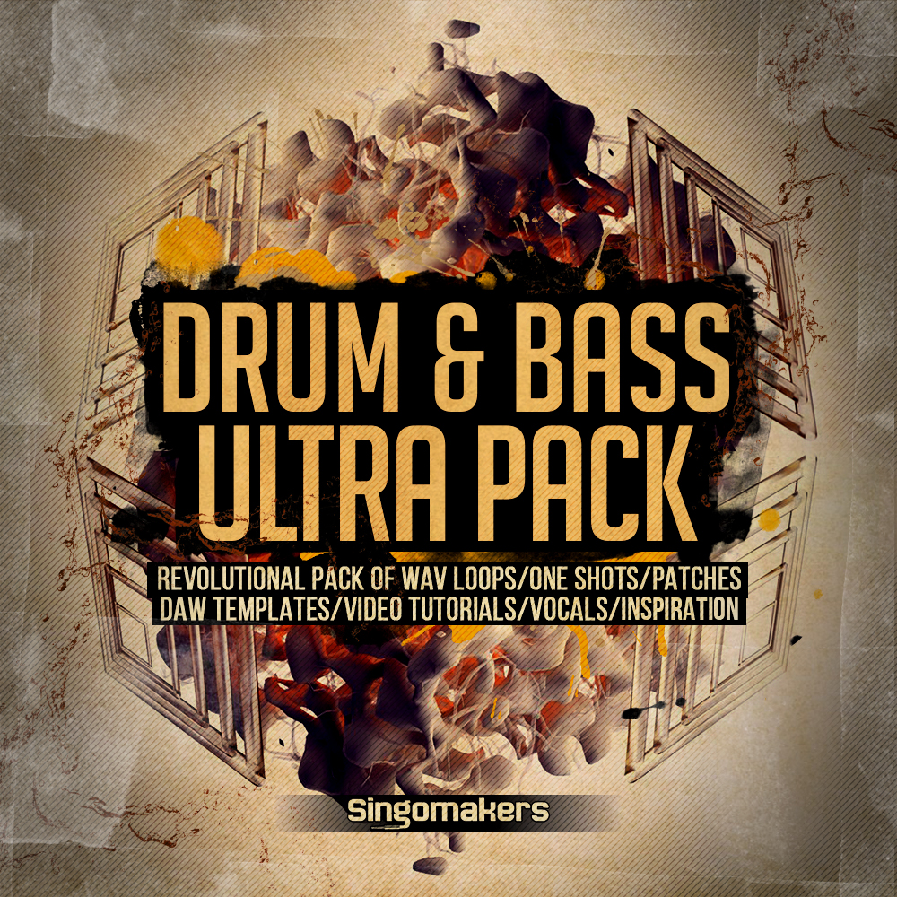 Drum & Bass Ultra Pack, DnB Track Templates, Drum And Bass Synth ...