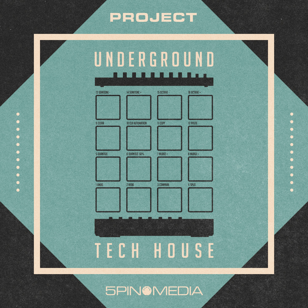 Tech House Ableton Projects, Underground Tech House Maschine ...
