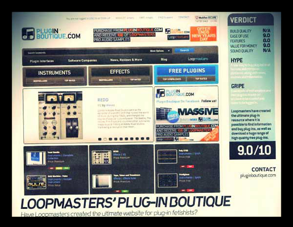 Plugin Boutique Review in DJ Mag