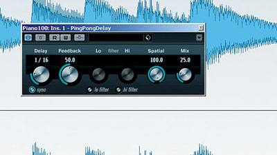 Stereo Width - Create Stereo Width Using Ping Pong Delay In Cubase