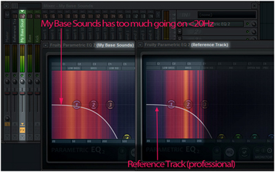 Using a Reference Track in FL Studio