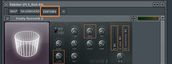 Gated Reverb with Patcher in FL Studio