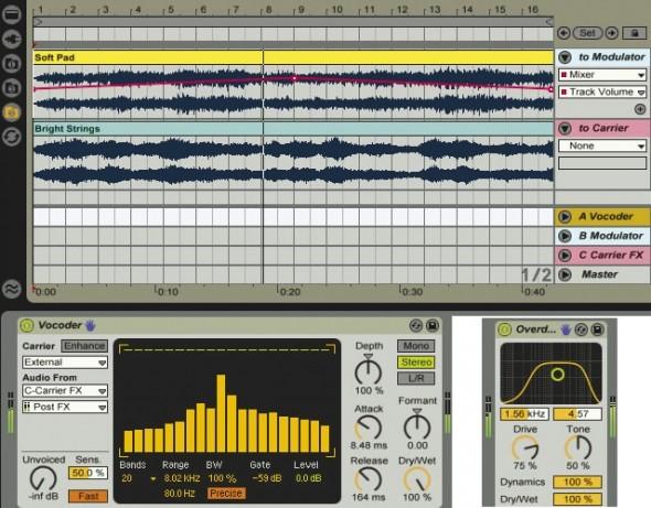 Versatile Vocoding Techniques In Ableton Live