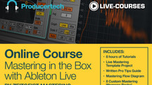 Producertech mastering in the box with live
