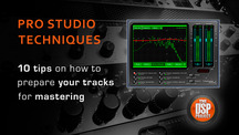 Dsp how to prepare tracks for mastering