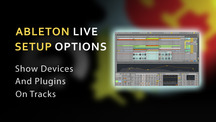 Ableton setup options