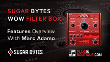Pluginboutique sugar bytes wow filterbox vst overview