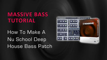 Nu skool bass patch