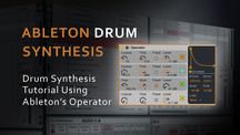 Drum synthesis