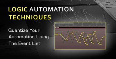 Quantizing Automation With The Event List In Logic Pro