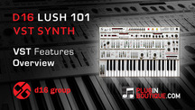 Pluginboutique d16 lush101 vst overview