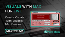 Pointblankonline visuals with max for ableton live