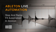Ableton live step and ramp automation
