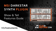 Pluginboutique msi darkstar synth overview