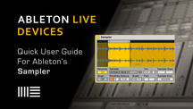 Ableton live sampler quick user guide