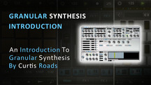 Granular synthesis introduction