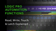 Logic pro automation functions