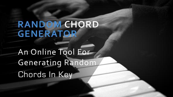 Random Chord Generator