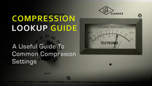 Common compression settings guide