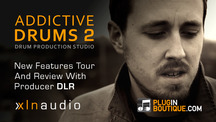 Pluginboutique addictivedrums2 new features guide with dlr
