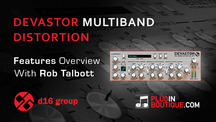 Pluginboutique d16 devastor multiband distortion vst overview