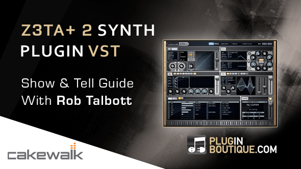 Z3TA+2 Virtual Synth Overview & Basic Patch Creation - With