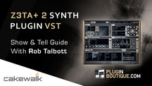 Pluginboutique cakewalk z3ta 2 synth vst overview