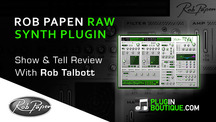 Pluginboutique robpapen raw overview