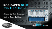 Pluginboutique robpapen blueii overview