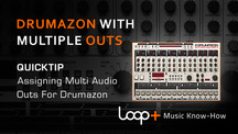 Quicktips d16 drumazon assigning multiple outputs
