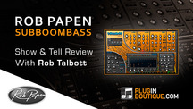 Pluginboutique robpapen subboombass overview