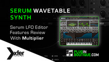 Pluginboutique xferrecords serum lfo overview