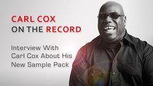 Carl cox sample pack interview