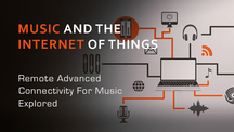 Music and the internet of things