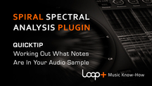 Quicktips sprial what notes are in your samples