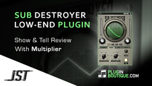 Pluginboutique jst subdestroyer multiplier overview
