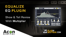 Pluginboutique acorndigital equalize multiplier overview