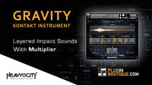 Pluginboutique heavyocity gravity multiplier overview