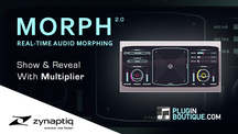 Pluginboutique zynaptiq morph multiplier overview