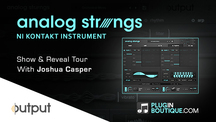 Pluginboutique jc analogstrings overview