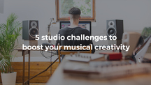 Loopcloud blog post thumbnail template 5 studio challenges to boost your musical creativity