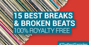 Loopmasters 15 best breaks and broken beats samplepacks royalty free samples