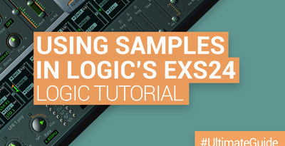Loopmasters working with samples in logic exs24