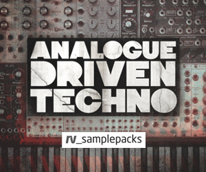 Rv analogue driven techno 300 x 250