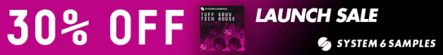 Tuff gruv tech house 4 launch sale 728x90