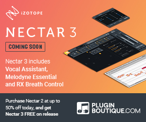 300x250 izotope nectar 3 coming soon pluginboutique